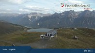 Archived image Webcam Mountain Schlivera, Scuol in Grisons 09:00