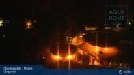 Archived image Webcam Aqua Dome Spa Längenfeld 23:00