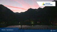 Archived image Webcam Klosters: Sports center 01:00