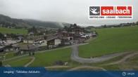Archived image Webcam Asitzbahn Base Station in Leogang 03:00