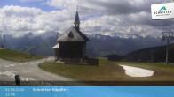 Archived image Webcam View Chapel Schmitten 11:00