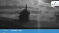 Archived image Webcam View Chapel Schmitten 22:00