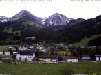 Archived image Webcam Schattwald: Vacation rental Haus Romantika 08:00