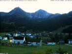 Archived image Webcam Schattwald: Vacation rental Haus Romantika 12:00