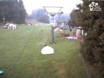 """Archived image Webcam Winterberg: View chair lift """"Rauher Busch"""" 02:00"""