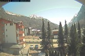 Archived image Webcam Hotel Kristall-Saphir in Saas-Almagell 08:00