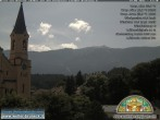 Archived image Webcam Church of Bruneck, South Tyrol 06:00