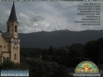 Archived image Webcam Church of Bruneck, South Tyrol 10:00