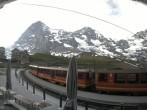 Archived image Webcam Train station Kleine Scheidegg, Grindelwald 00:00
