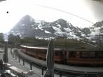 Archived image Webcam Train station Kleine Scheidegg, Grindelwald 02:00