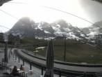 Archived image Webcam Train station Kleine Scheidegg, Grindelwald 04:00