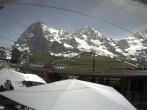 Archived image Webcam Train station Kleine Scheidegg, Grindelwald 08:00