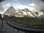 Archived image Webcam Train station Kleine Scheidegg, Grindelwald 14:00