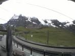 Archiv Foto Webcam Bahnhof Kleine Scheidegg, Grindelwald 02:00