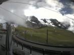 Archiv Foto Webcam Bahnhof Kleine Scheidegg, Grindelwald 10:00