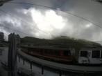 Archiv Foto Webcam Bahnhof Kleine Scheidegg, Grindelwald 12:00