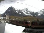 Archiv Foto Webcam Bahnhof Kleine Scheidegg, Grindelwald 08:00