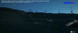 Archiv Foto Webcam Bergstation Gondelbahn in Sillian 22:00