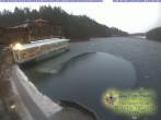 Archiv Foto Webcam Blick über den Tristachersee 02:00