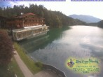 Archived image Webcam View of the Tristachersee 04:00