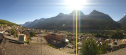 Archived image Webcam Grisons, Scuol 04:00