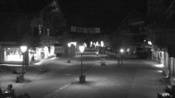 Archiv Foto Webcam Promenade in Gstaad 18:00