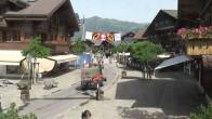 Archiv Foto Webcam Promenade in Gstaad 04:00