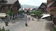 Archiv Foto Webcam Promenade in Gstaad 08:00