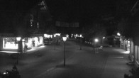Archived image Webcam Promenade in Gstaad 22:00