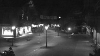 Archived image Webcam Promenade in Gstaad 00:00