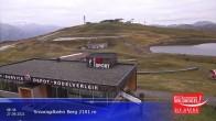 Archived image Webcam Top station Smaragdbahn gondola 02:00