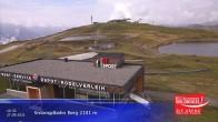 Archived image Webcam Top station Smaragdbahn gondola 04:00