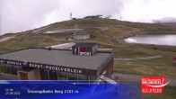 Archived image Webcam Top station Smaragdbahn gondola 06:00