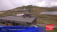Archived image Webcam Top station Smaragdbahn gondola 08:00