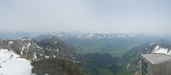 Archived image Webcam Switzerland: Säntis (2502 m) 08:00