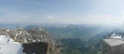 Archived image Webcam Switzerland: Säntis (2502 m) 10:00