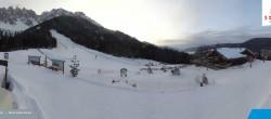 "Archived image Webcam Sexten Dolomites: ""Skiberg Haunold"" 18:00"