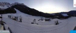 "Archived image Webcam Sexten Dolomites: ""Skiberg Haunold"" 22:00"
