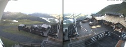 Archived image Webcam Davos: Mountain restaurant Chalet Güggel 00:00