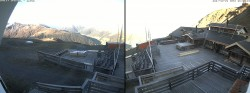 Archived image Webcam Davos: Mountain restaurant Chalet Güggel 02:00