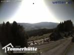 Archiv Foto Webcam Steiermark, Tonnerhütte 10:00