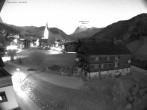 Archived image Webcam Village center Warth 00:00