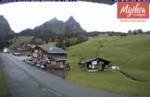 Archived image Webcam base station Brunni-Haggenegg mountain railways 00:00