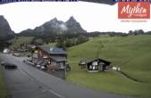 Archived image Webcam base station Brunni-Haggenegg mountain railways 04:00