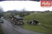 Archived image Webcam base station Brunni-Haggenegg mountain railways 06:00