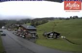 Archived image Webcam base station Brunni-Haggenegg mountain railways 08:00
