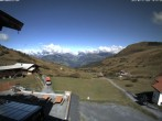Archived image Webcam Arflina: View towards the valley 08:00