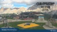 Archived image Webcam Alta Badia - Club Moritzino 09:00