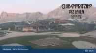 Archived image Webcam Alta Badia - Club Moritzino 21:00