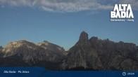 Archived image Webcam Piz Arlara (Alta Badia) 03:00